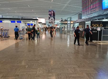 盆休み 成田空港混雑のはずが、、、