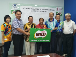 Results of Team Events Draw - 30th Milo Malaysia Hopes Table Tennis Championships 2017
