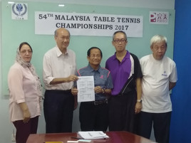 Results of Team Events Draw - 54th Malaysia Table Tennis Championships 2017