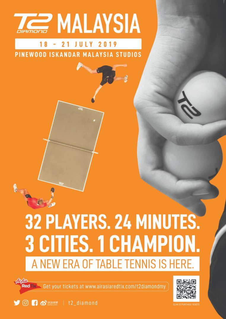 T2 DIAMOND TABLE TENNIS LEAGUE 2019