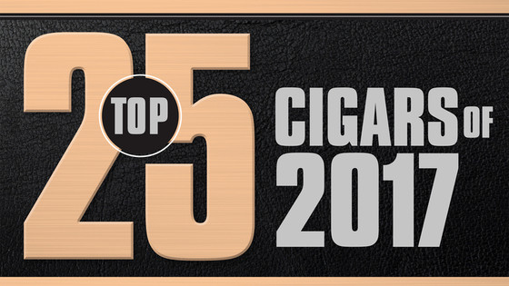 Best Cigars of 2017 by Cigar Aficionado