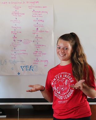Student ambassadors share ideas for summit planning