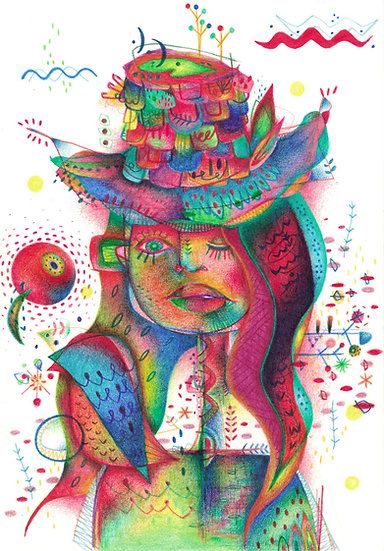 Rainbow people # hut women