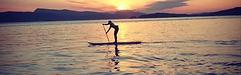 Paddle Otter Bay Pender Island BC SUP Yoga