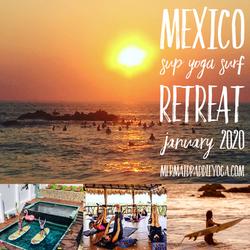 Mexico sup yoga surf retreat