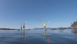 Paddles up - SUP Yoga class