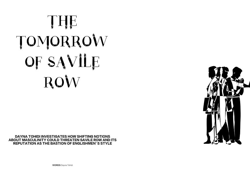 The Tomorrow of S-avile Row_Dayna Tohidi