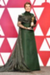 Olivia-Colman-Oscars-2019-winners-Lady-G