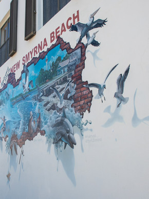 Mural at The Hub on Canal Street
