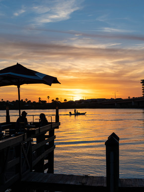 Sunset in New Smyrna Beach