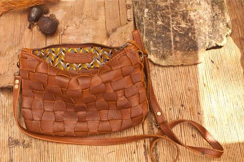 Woven Gemsbok handbag