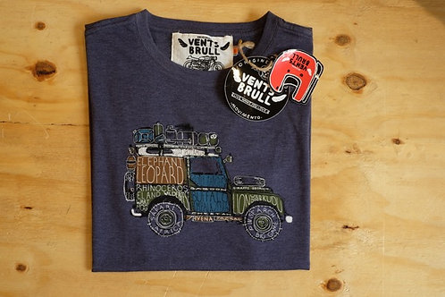 Vents Brull Safari Landy T-shirt