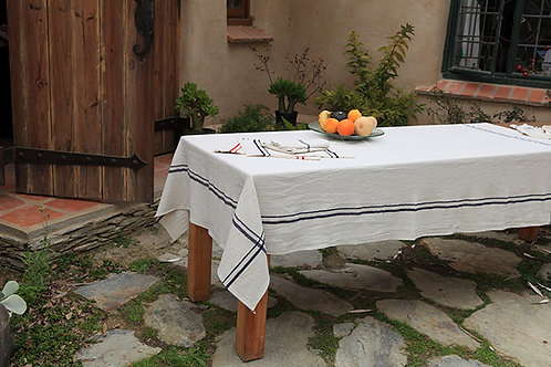 Handwoven cotton Tablecloth