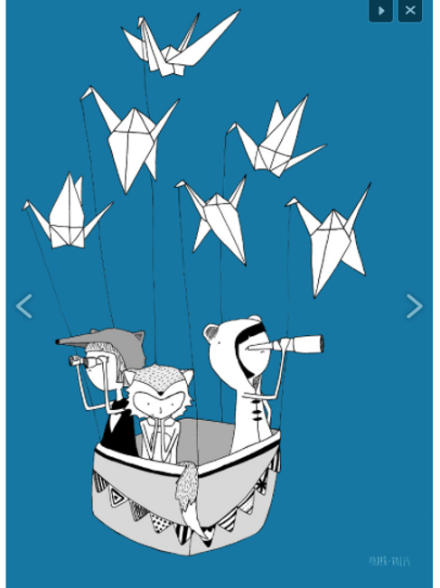 'Origami Birds'