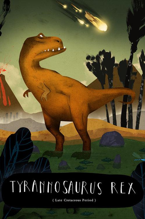 Patrick Latimer Dinosaurs A5