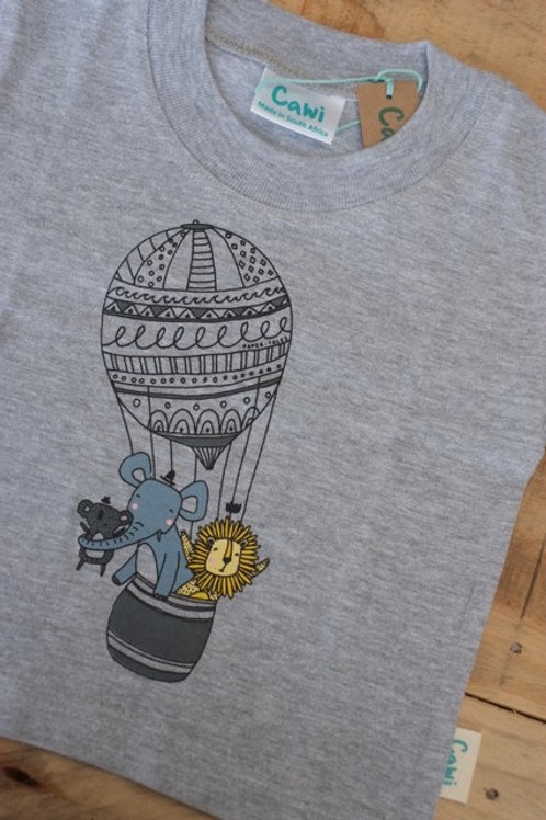 Hot air ballon adventure t-shirt