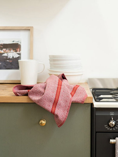 Boma kitchen towel in White Rust