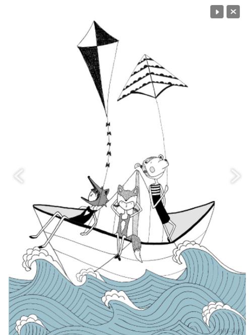 'Origami boat'