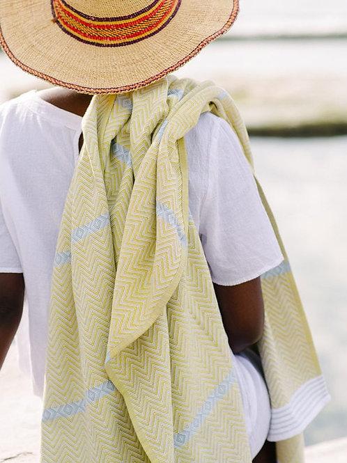Beach towel in Soleil