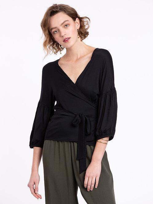Ivy wrap blouse