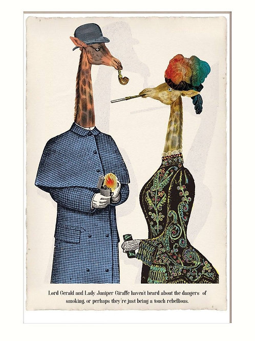 Animabila Giraffe Couple