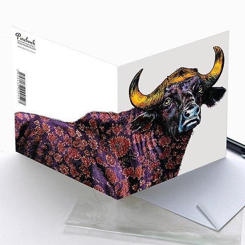 Pinchuck greeting card: Buffalo