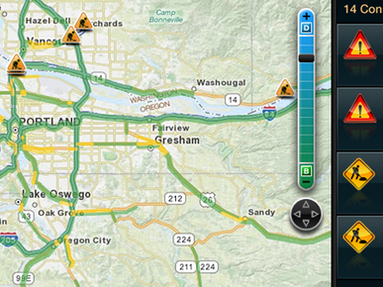 Live Traffic Yahoo Widget
