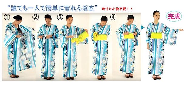浴衣 簡単 人気 安い おしゃれ 仕立屋甚五郎 トレンド 着付け不要 衿なし