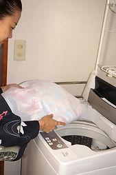仕立屋甚五郎 洗濯機で洗える