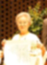日本いけばな芸術協会名誉特別会員 後藤通江氏