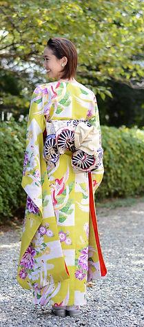 仕立屋甚五郎 衿なし振袖 スタイルアップ効果抜群 ひとりで簡単に着れる