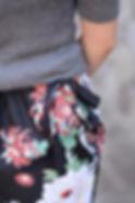 和柄 巻きスカート 和柄スカート 和コーデ 仕立屋甚五郎 紅菊