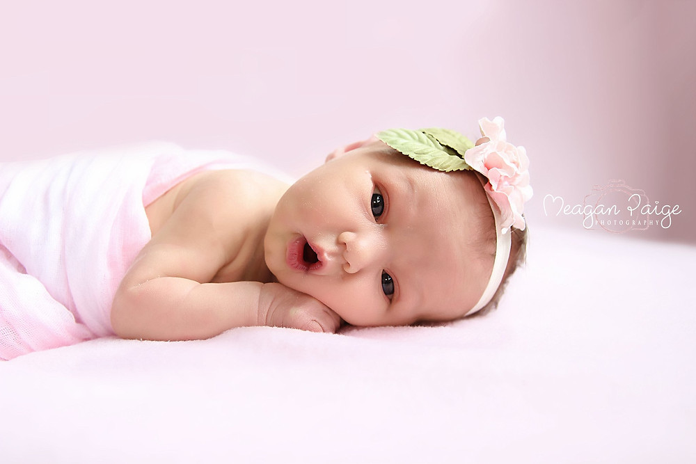 Cute Newborn Girl - Emerson