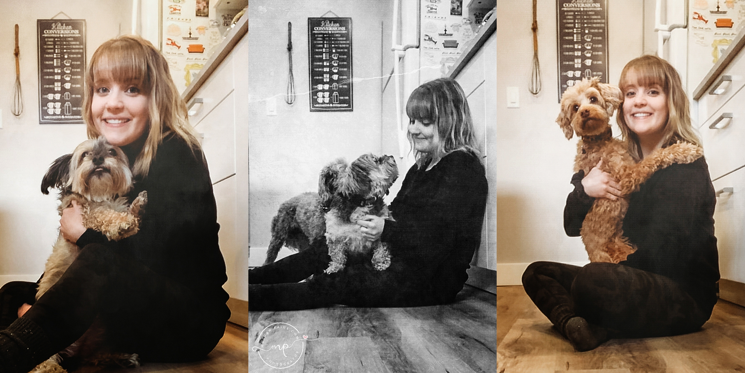 Calgary Facetime Puppy Photo Session - Meagan Paige Photography