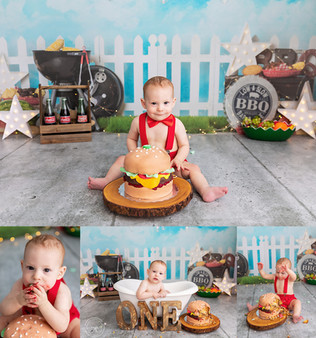 cake smash photographer calgary