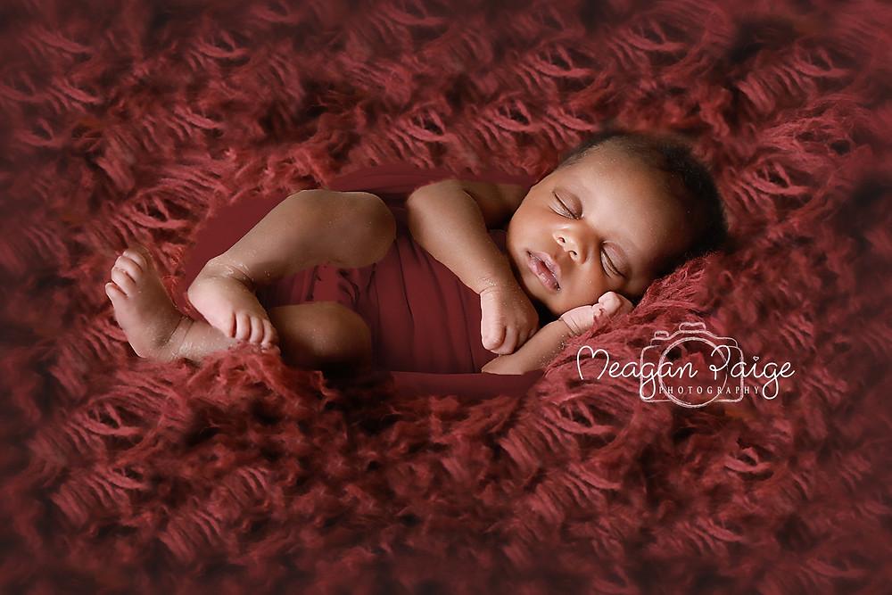 Tinaye - Newborn Girl - All dressed in Red