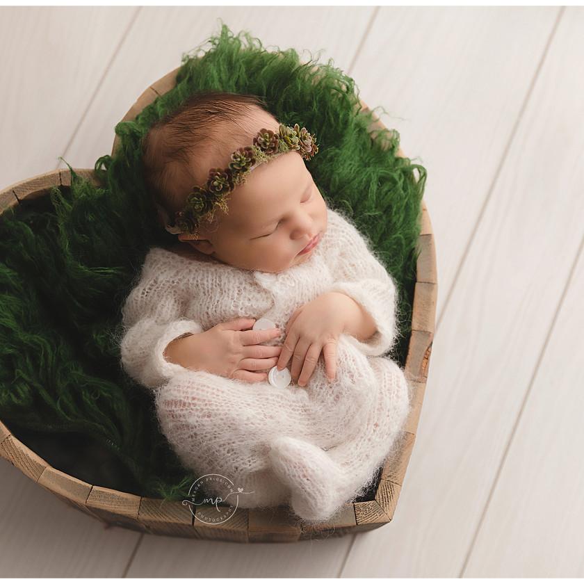 Studio Newborn Session - Meagan Paige Photography - Calgary, AB