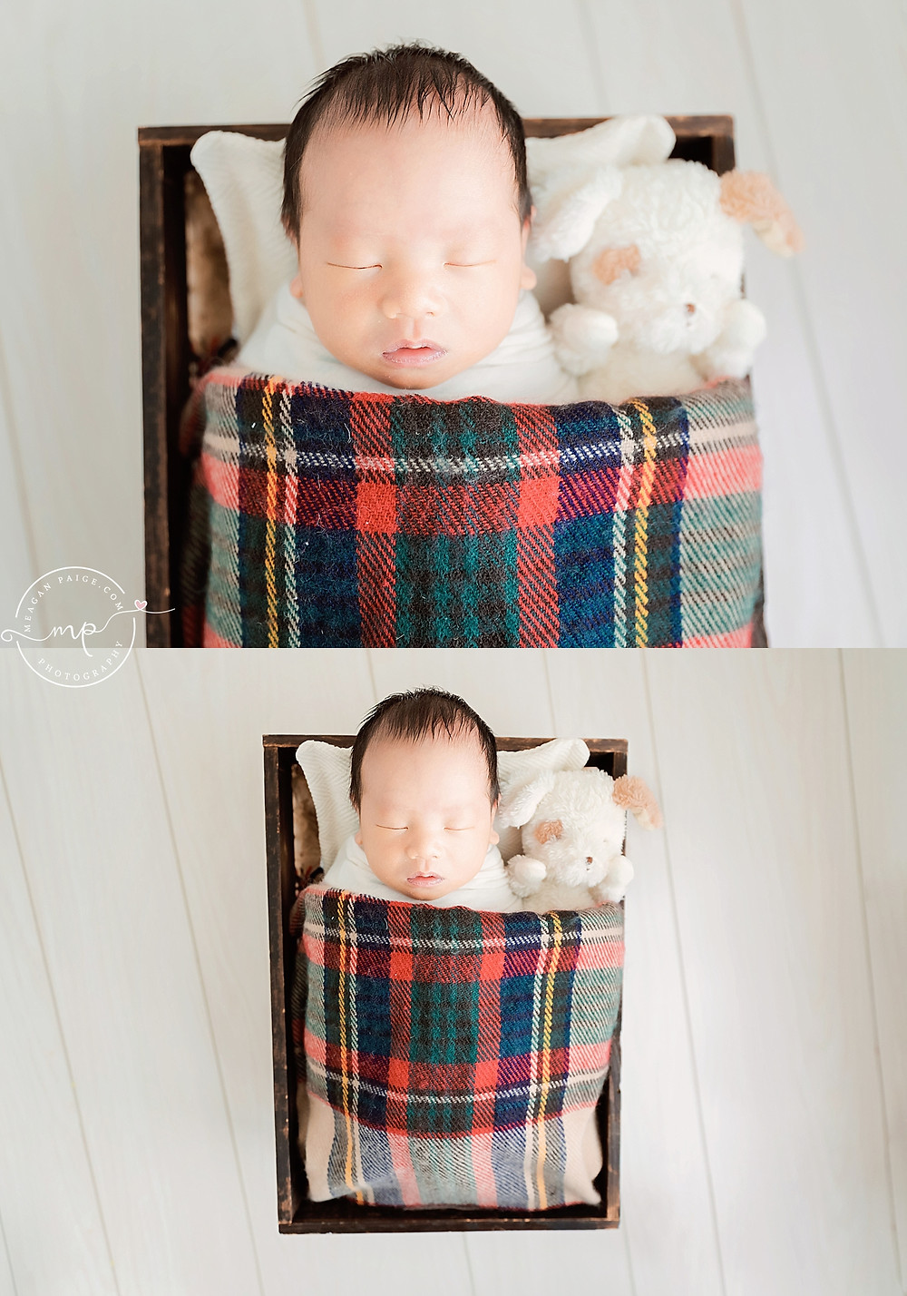 baby boy newborn session - meagan paige photography - calgary