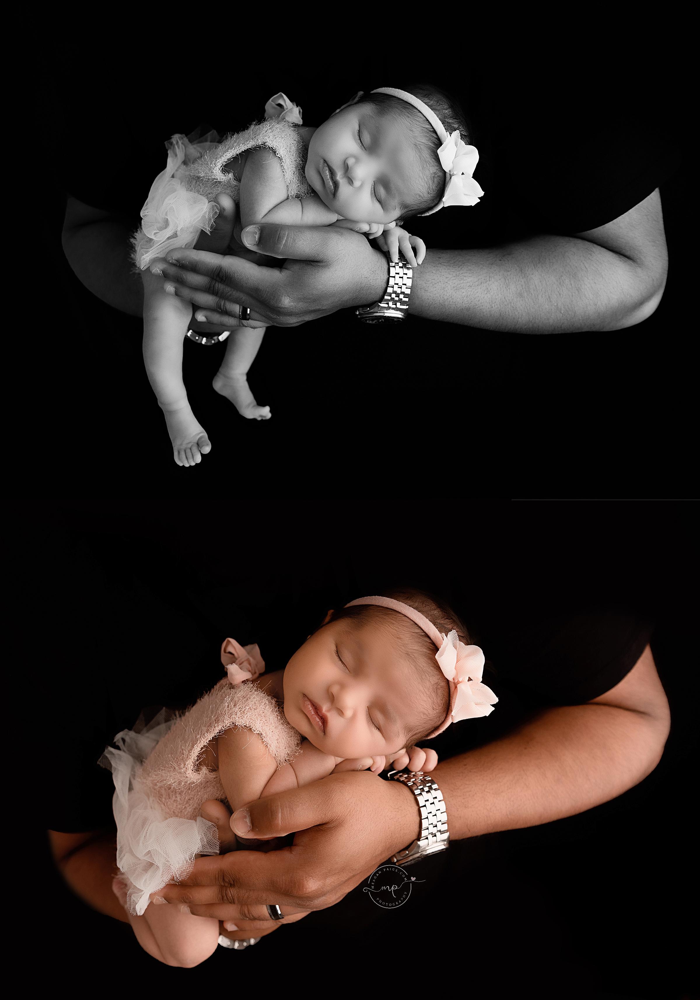Rainbow Baby Newborn Session - Calgary Newborn Photographer - Meagan Paige Photography