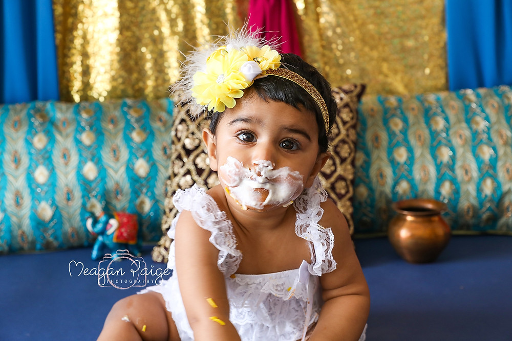 BUTTER CHICKEN SMASH!!!! - Meagan Paige Photography - Cake Smash Photographer