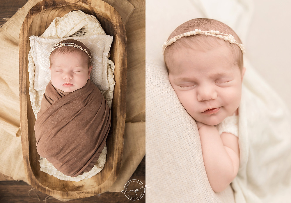 calgary newborn photographer - baby girl