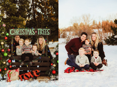 Holiday Christmas Minis Weekend Two - Calgary Family Photographer