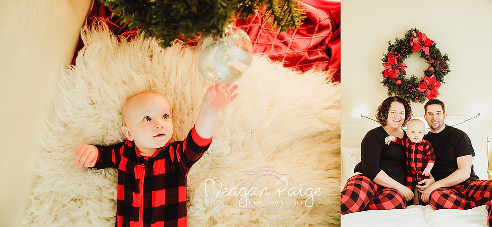 Indoor Christmas Mini Sessions - Baby's First Christmas