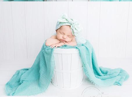 Hailey's Baby Girls's Studio Newborn Session