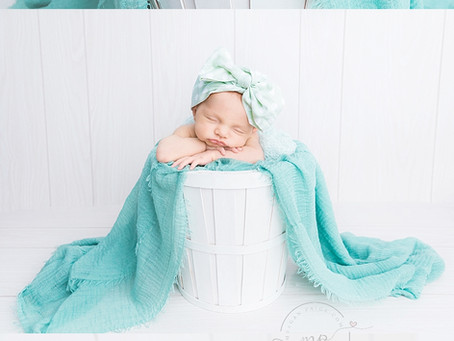 Hailey's Baby Girls's Studio Newborn Session