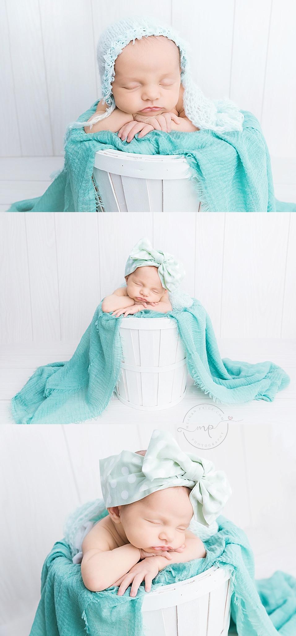 Calgary Newborn Photographer - Baby Girl - Meagan Paige Photography