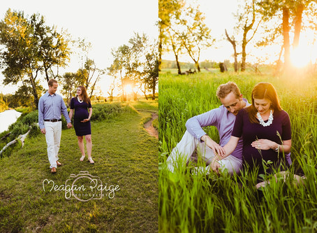 Steve and Kirsty's Maternity Session - Meagan Paige Photography - Calgary Photographer