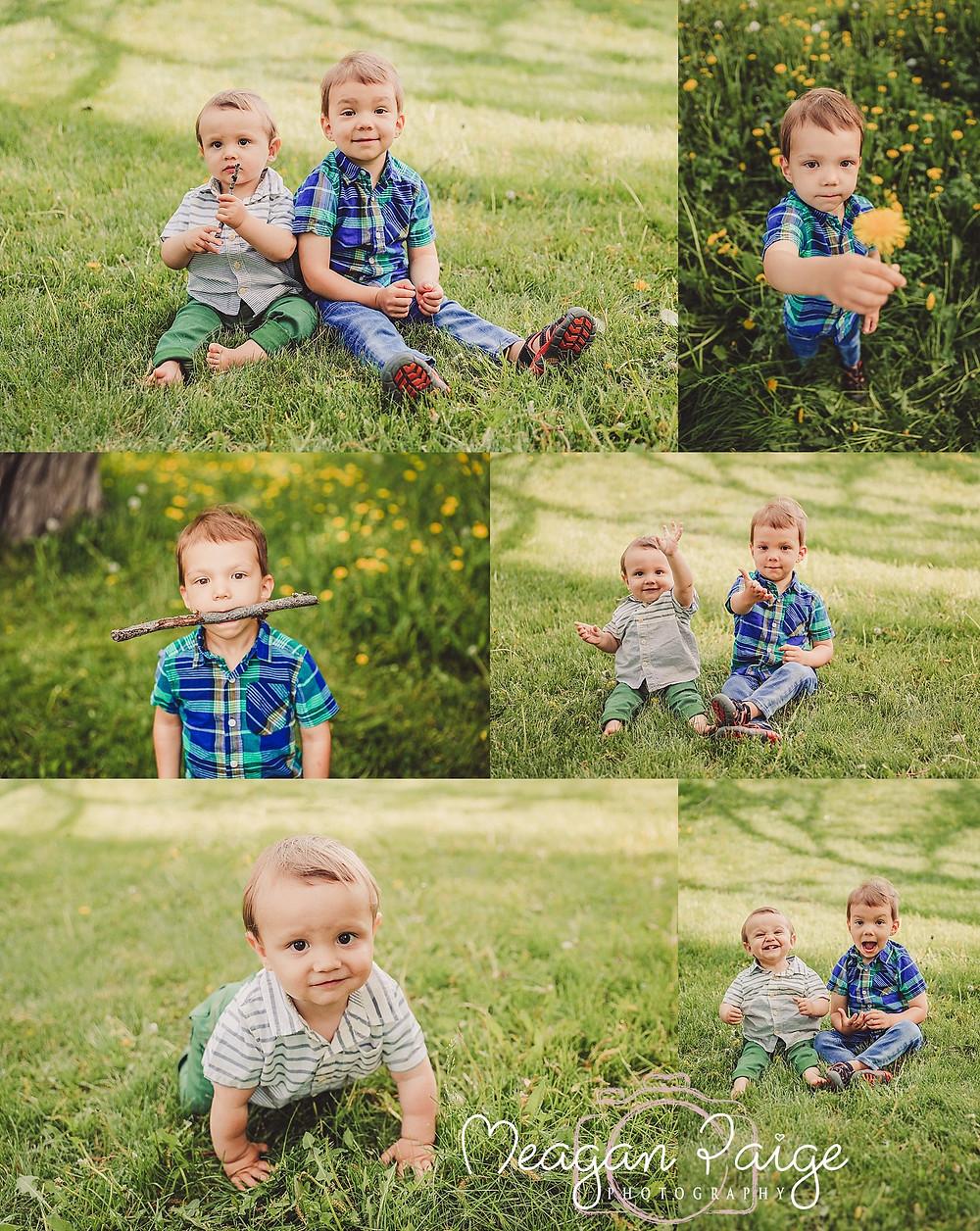 The Boys - Calgary Child Photographer
