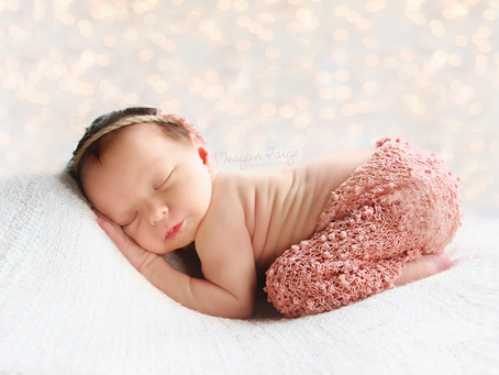 Baby Girl Oaklynn - Calgary Newborn Photographer