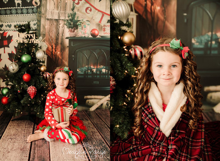 Holiday Christmas Mini Sessions - Calgary Family Photographer